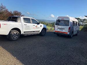 Surface Matters Service Van