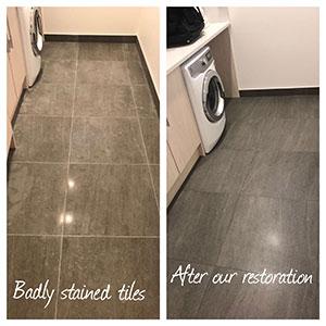 Before & After Restoration